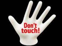 Don't touch!